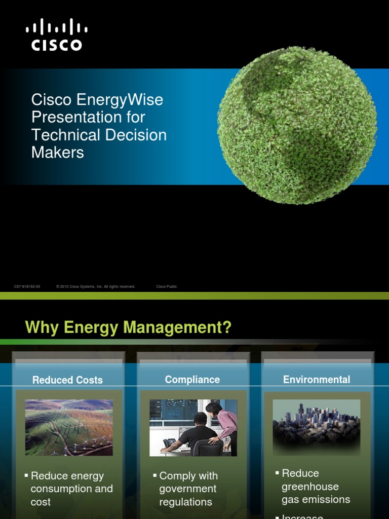 Cisco EnergyWise